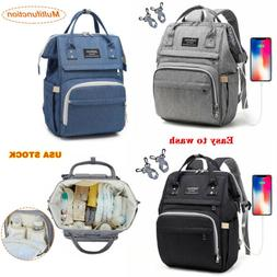 Diaper Bag Backpack Large Maternity Baby Nappy Changing Bag