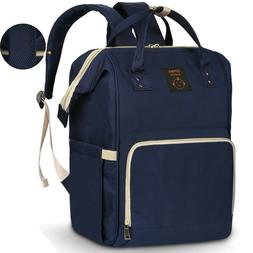 Diaper Bag Backpack Large - Multi-Function Waterproof Baby T