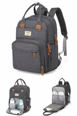 Diaper Bag Backpack, RUVALINO Large Multifunction Travel Bac