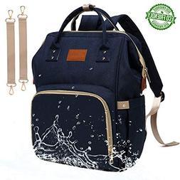 Baby Diaper Bag Backpack – Large Diaper Backpack for Mom D