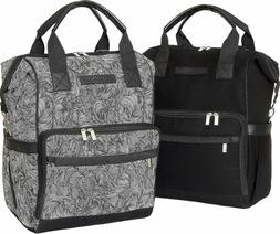 Land of Goods Baby Diaper Bag Backpack Matching Set, Waterpr