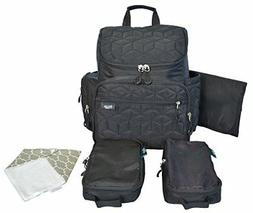 Terra Baby Diaper Bag Backpack Organizer with Stroller Strap