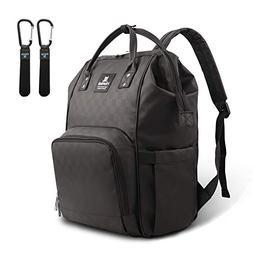 Hafmall Diaper Bag Backpack Waterproof Multi-Function Travel