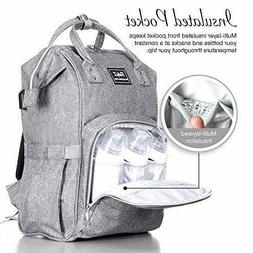 Diaper Bag Backpack with Multi-Function Nappy Bags for Baby