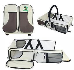 Just Samba Baby Diaper Bag, Portable Bassinet and Travel Cha