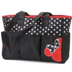 Disney Diaper Bag MINNIE Mouse -FREE Shipping Gift Baby Show