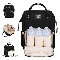 Diaper Bag Multi-Function Waterproof Travel Backpack Nappy B