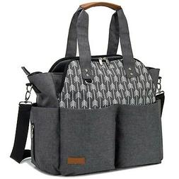 Baby Diaper Bag Tote Satchel Messenger Bag For Moms And Girl