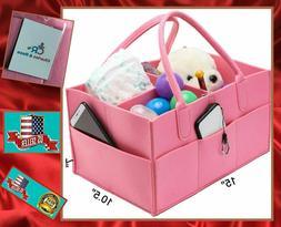 Diaper Caddy Large Portable Baby Tote Storage Organizer Bin