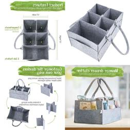 Diaper Caddy Organizer For Nursery & Changing Table Gift Bas