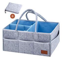Atlas Trails - Baby Diaper Caddy Portable Organizer & FREE E