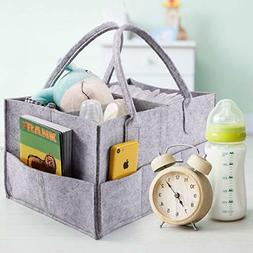 Baby Diaper Caddy and Toy Storage Organizer | Nursery Storag