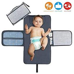 Diaper Changing Pad Diaper Change Mat with Head Cushion and