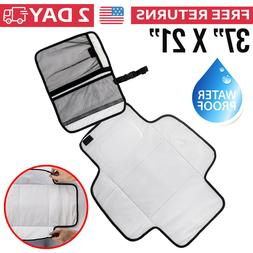Diaper Changing Pad For Babies Portable Mat Travel Wipeable