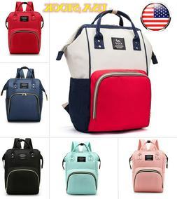 Diaper Nappy Bag, Mommy Maternity Baby Travel Backpack Handb