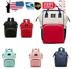 Diaper Nappy Bag Mummy Baby Travel Backpack Handbag Large Ca