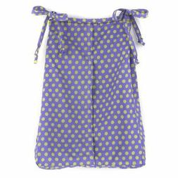 Cotton Tale Designs Diaper Stacker, Periwinkle