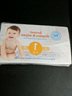 Honest Diaper Wipes Trial Size Sample Kit 2 Diapers 10 Wipes