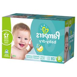Pampers Baby Dry Diapers Size 4 Giant Pack, 128 ea