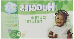 Huggies Pure & Natural Diapers - Size 3 - 76 ct