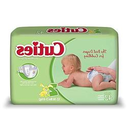 Cuties Premium Baby Diapers, Size 2, Pack 42