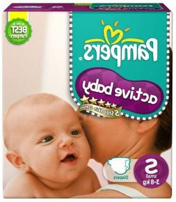 Pampers Diapers Active Baby Small Size   New Economy Newborn