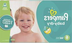 Diapers Pampers Baby-dry Disposable ONE MONTH SUPPLY Fast Fr