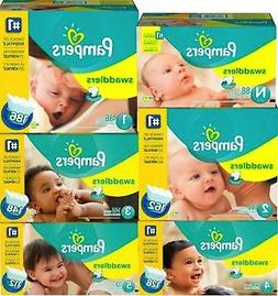Pampers Swaddlers Diapers Economy Plus Pack  Free shipping