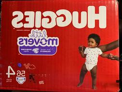 Huggies Diapers, Little Movers, Disney Baby, Size 4