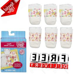 Baby Alive Diapers Pack 6 Spare Super Refill Doll Supplies A