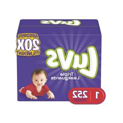 Diapers Size 1,2,3,4,5,6 - Luvs Ultra Leakguards Disposable