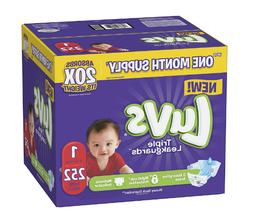 Diapers Size 1 Luvs Ultra Leakguards Disposable Baby Diapers