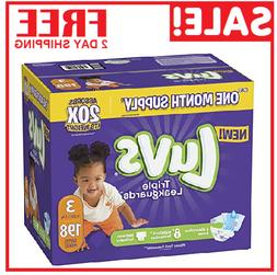 Diapers size 3 Luvs Ultra Leakguards Disposable  Baby Diaper