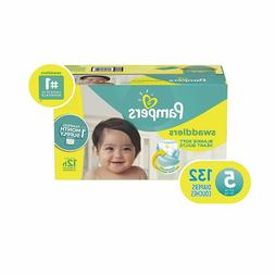 Diapers Size 5, 132 Count -  Swaddlers Disposable Baby Diape