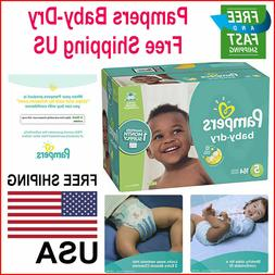 Diapers Size 5 164 Count Pampers Baby Dry Disposable Baby Di