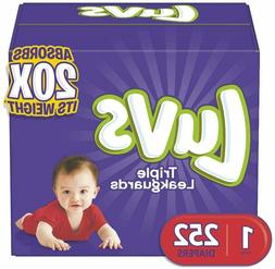 NEW LUVS Ultra Leakguards Baby Diapers Size 1, 2, 3. 4. 5, 6
