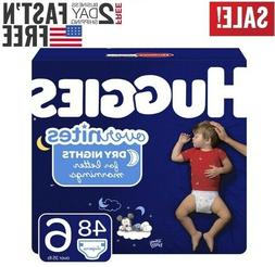 Diapers size 6 HUGGIES OverNites Diaper Size 6 48 count- Bab