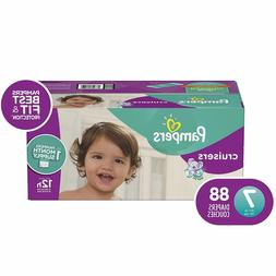 Diapers Size 7,88 Count Pampers Cruisers Disposable Baby Dia