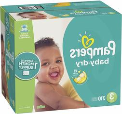 Diapers Size Size 3  - Pampers Baby Dry Disposable Baby Diap