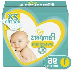 Diapers Pampers Swaddlers Disposable Baby