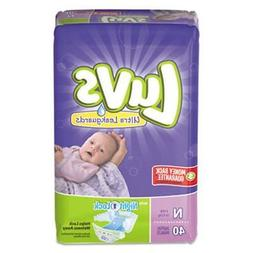 Luvs Diapers with Leakguard, Newborn 4 to 10 lbs, 4 Packs
