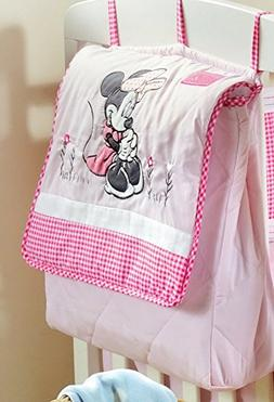 Blancho Disney Baby Minnie Mouse Flower Crib Bedding Accesso