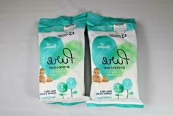 Pampers Pure Disposable Baby Diapers Size 1, 3 Count, Hypoal
