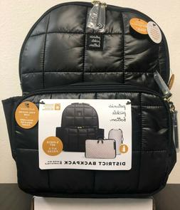 district baby diaper bag backpack shadow