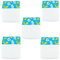 You & Me 5-Pack Baby Doll Diapers - Girls