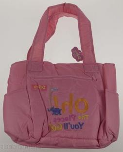 Dr Seuss Oh The Places You'll Go Baby Diaper Bag Pink Trend