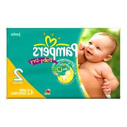 Pampers Baby Dry Diapers Size 2  - Pack of 34 diapers