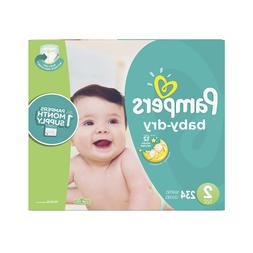 Pampers Baby Dry Disposable Baby Diapers, Size 2, 234 Count,
