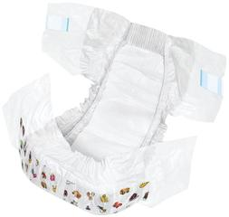 1 bag drytime disposable diapers