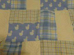Glenna Jean Duck Nursery Set Quilt Skirt Diaper Stacker bedd